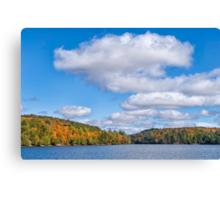 Meech Lake in the Fall  Canvas Print