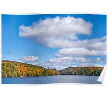 Meech Lake in the Fall  Poster