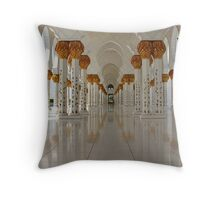 Sheikh Zayed Mosque Throw Pillow
