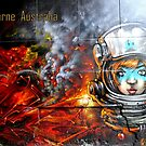 Melbourne Australia #5 by bekyimage