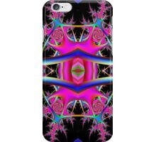 Fractal Collide  iPhone Case/Skin