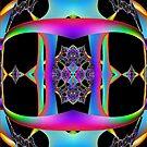 Alien Fractal by Marvin Hayes