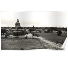 Breathtaking Bagan Poster