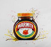 Marmite, Love it or Hate it! by Karen Boozer
