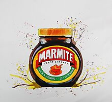 Marmite, Love it or Hate it! Photographic Print