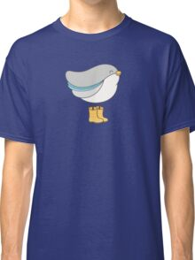 bird in boots Classic T-Shirt