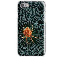 Blue Spider Web iPhone Case/Skin