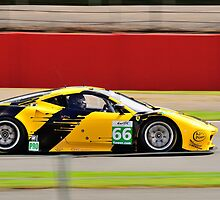JMW Motorsport Ferrari No 66 by Willie Jackson