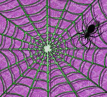 A CREEPY CRAWLER AND THE WONDERFUL WEB by Carlos Phillips