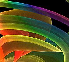 Fluid Rainbow 1 by Marvin Hayes