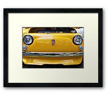 Fiat bumper Framed Print