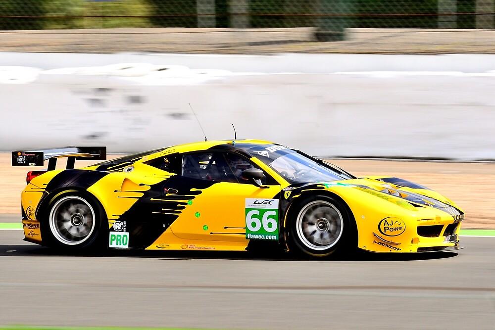 Ferrari 458 No 66 by Willie Jackson