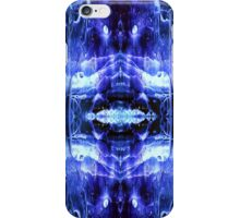 Ice Cave Ink Blot iPhone Case/Skin