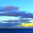 An Autumn Sky Over Belfast Lough by Fara