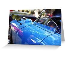 Blue luxury Greeting Card