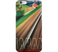 Vintage poster - Japan iPhone Case/Skin