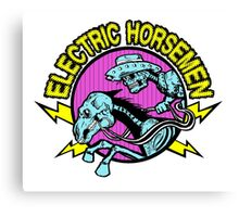 Electric Horsemen Logo Canvas Print