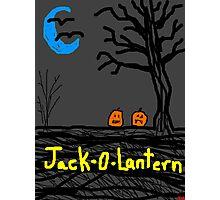 halloween jack o lantern Photographic Print