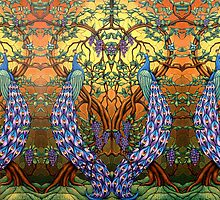 Peacock Mesmerized 1  by Marvin Hayes