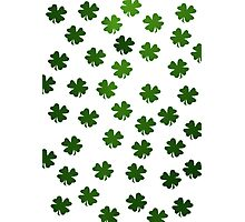 Shamrocks Invasion Photographic Print