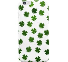 Shamrocks Invasion iPhone Case/Skin