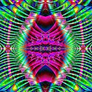 Pink Eye Fractal by Marvin Hayes