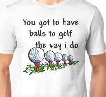 Funny Golfing Unisex T-Shirt