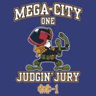 Mega-City One Judgin' Jury by BiggStankDogg
