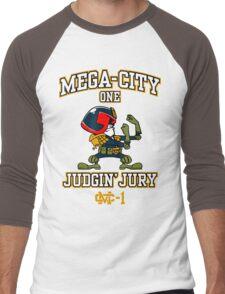 Mega-City One Judgin' Jury Men's Baseball ¾ T-Shirt