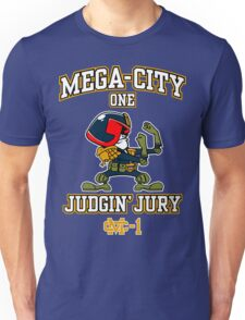 Mega-City One Judgin' Jury Unisex T-Shirt