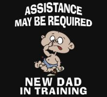 New Dad by FamilyT-Shirts