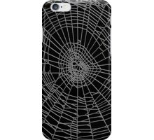 Spider Web black iPhone Case/Skin