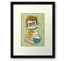 Tattooed Baby 003 Framed Print