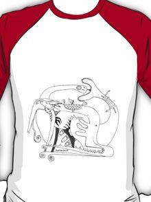 rebirth & love  BW T-Shirt