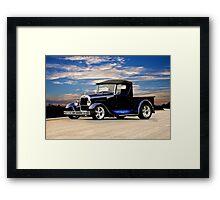 1929 Ford Roadster Pickup III Framed Print