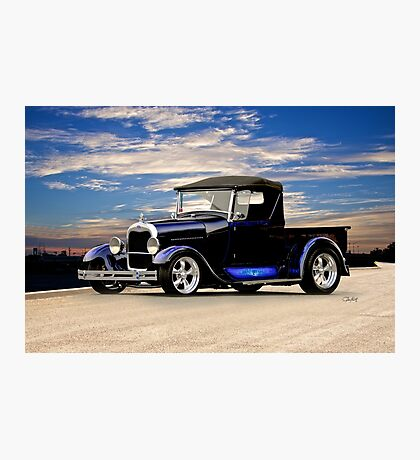 1929 Ford Roadster Pickup III Photographic Print