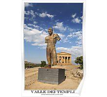 valle dei templi Poster