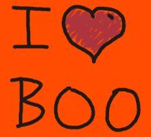 i love halloween boo Kids Tee