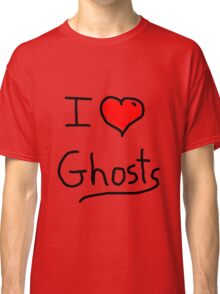 i love halloween ghosts Classic T-Shirt