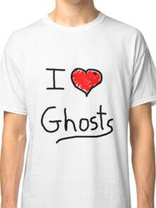 i love halloween ghosts Classic T-Shirt