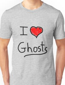 i love halloween ghosts Unisex T-Shirt