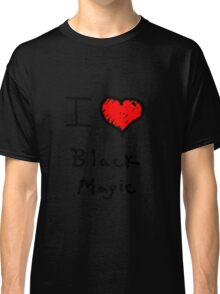 i love halloween black magic  Classic T-Shirt