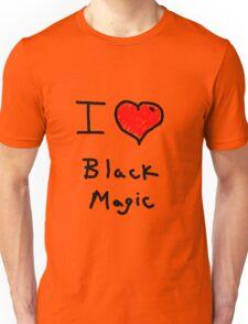 i love halloween black magic  Unisex T-Shirt