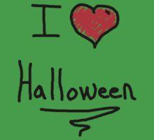 i love halloween One Piece - Short Sleeve