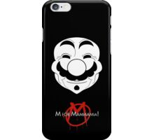 M for Mammamia! iPhone Case/Skin