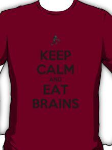 Keep Calm and Eat Brains T-Shirt