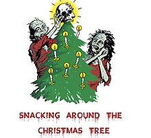 Snacking around the christmas tree by Winkham