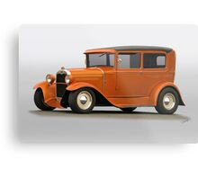 1930 Ford Tudor Sedan Metal Print