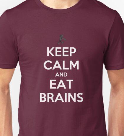 Keep Calm and Eat Brains Unisex T-Shirt
