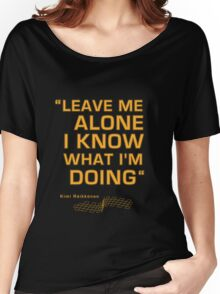 Kimi Raikkonen  - Radio Tribute 1 Women's Relaxed Fit T-Shirt
